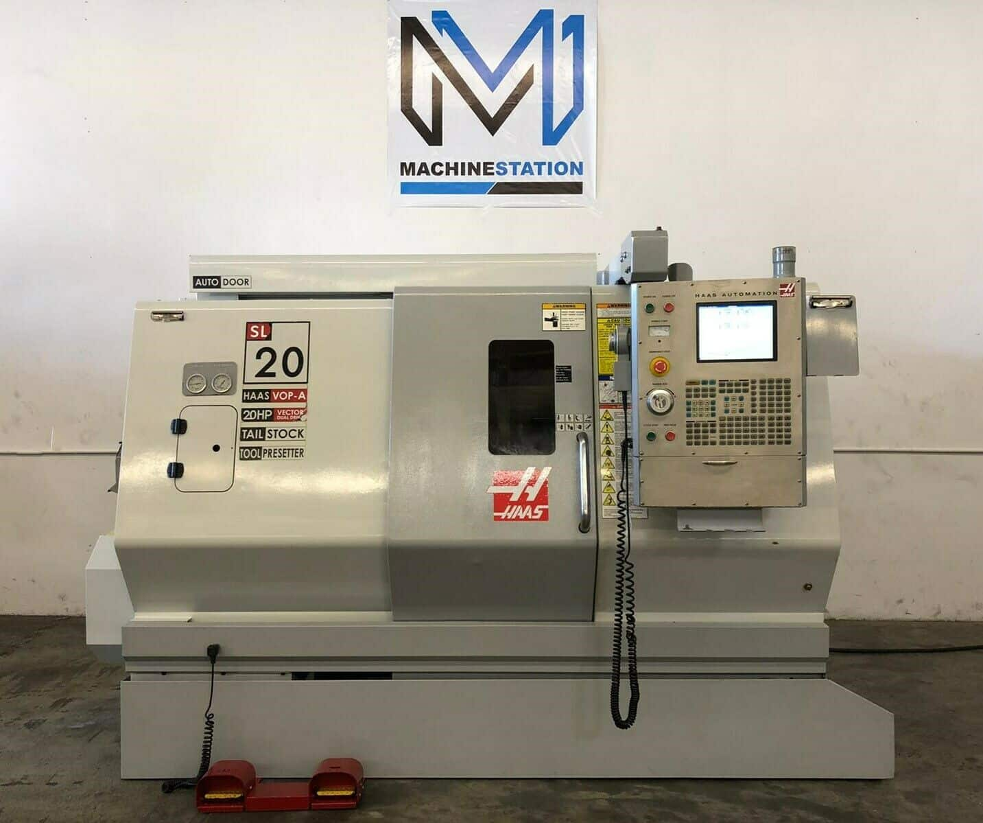 HAAS SL-20T CNC TURNING CENTER FOR SALE IN CALIFORNIA (1)