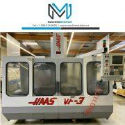 HAAS VF-3 CNC VERTICAL MACHINING CENTER 4TH AXIS READY MILL VF3 VF (2)