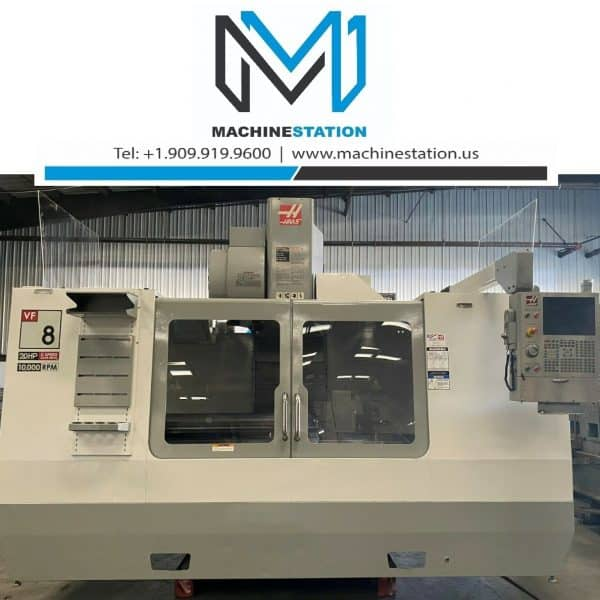 Haas VF-8D Vertical Machining Center for Sale in MachineStation USA