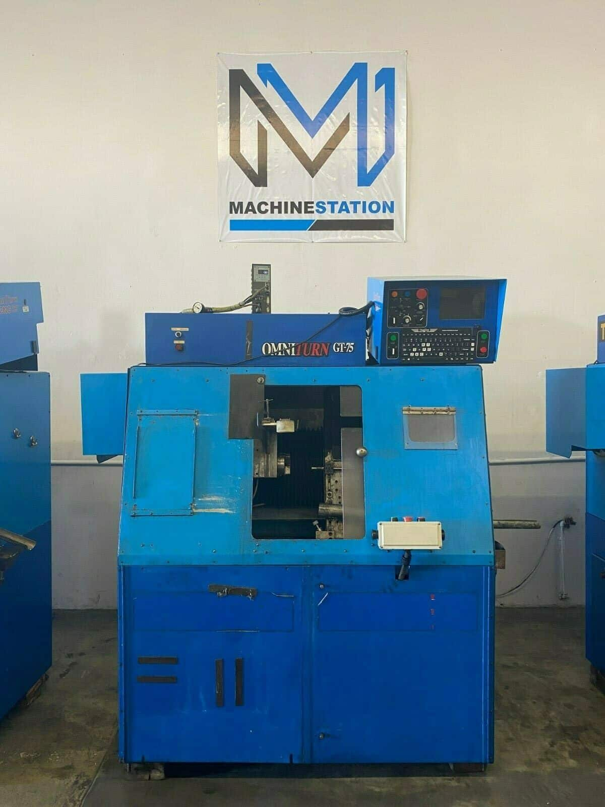 OMNITURN GT-75II CNC TURNING GANG TOOL LATHE FOR SALE IN CALIFORNIA (1)
