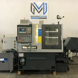 GANESH CYCLONE 32-NCY CNC SWISS SCREW TURNING LATHE FOR SALE IN CALIFRONIA (1)