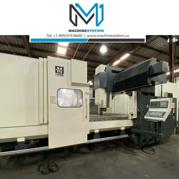 MIGHTY VIPER PRO-3210 CNC VERTICAL BRIDGE MILL FOR SALE IN CALFORNIA (1)