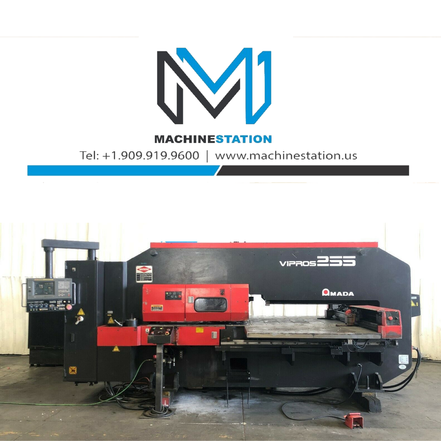 AMADA VIPROS 255 CNC TURRET PUNCH FOR SALE IN CALIFORNIA (10)