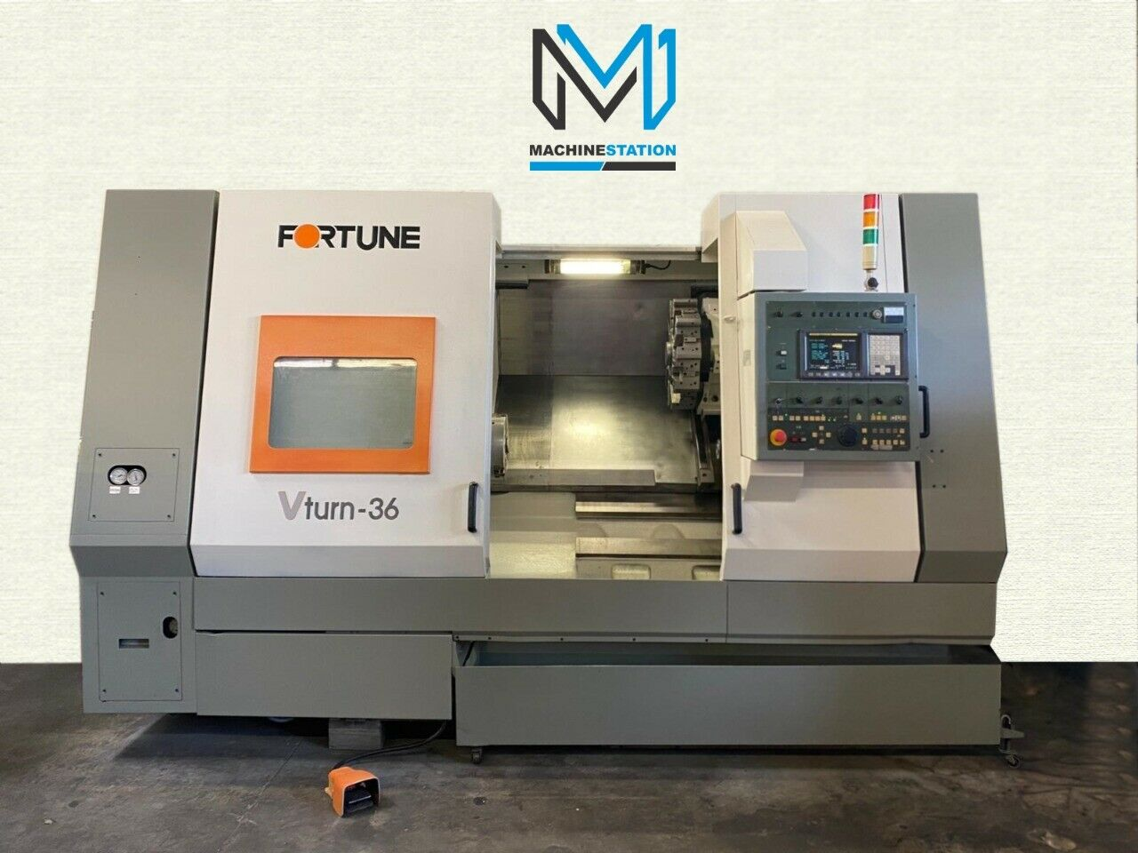 Fortune Victor VTurn-36 CNC Turning Center For Sale in California(1)