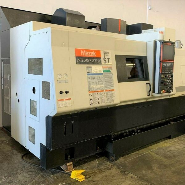 Mazak Integrex 200-IV ST CNC Multi Axis Turning Center For Sale in California (1)