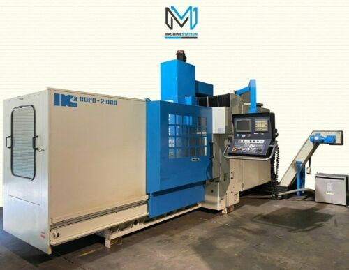 Nicolas Correa Euro 2000 CNC Vertical Mill For Sale in California (1)