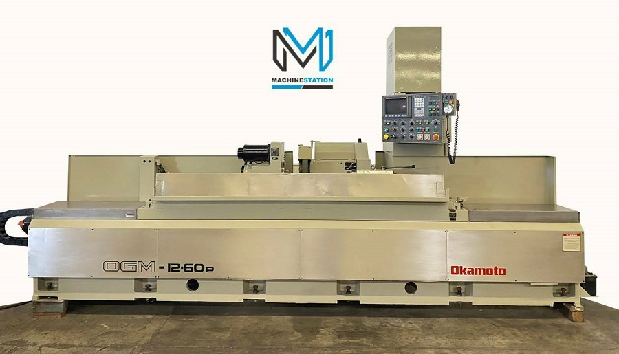 Okamoto OGM 12-60P CNC OD Cylindrical Grinder For Sale in California (1)