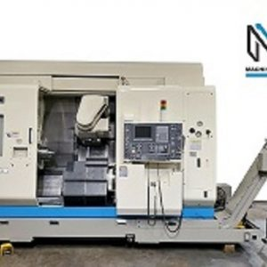 Okuma Macturn 250-W CNC 7 Axis Turn Mill Lathe(1)