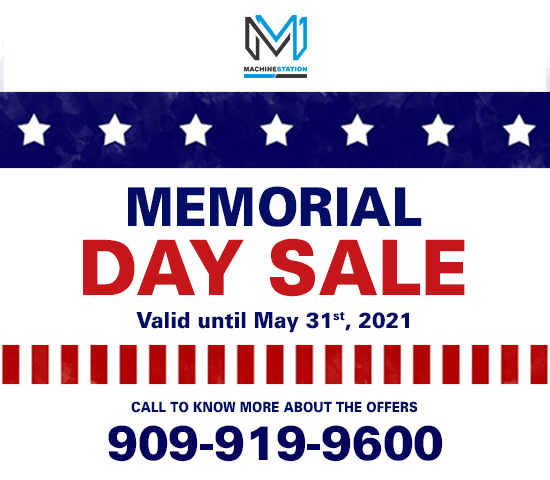 Memorial Day Sale - MACHINESTATION