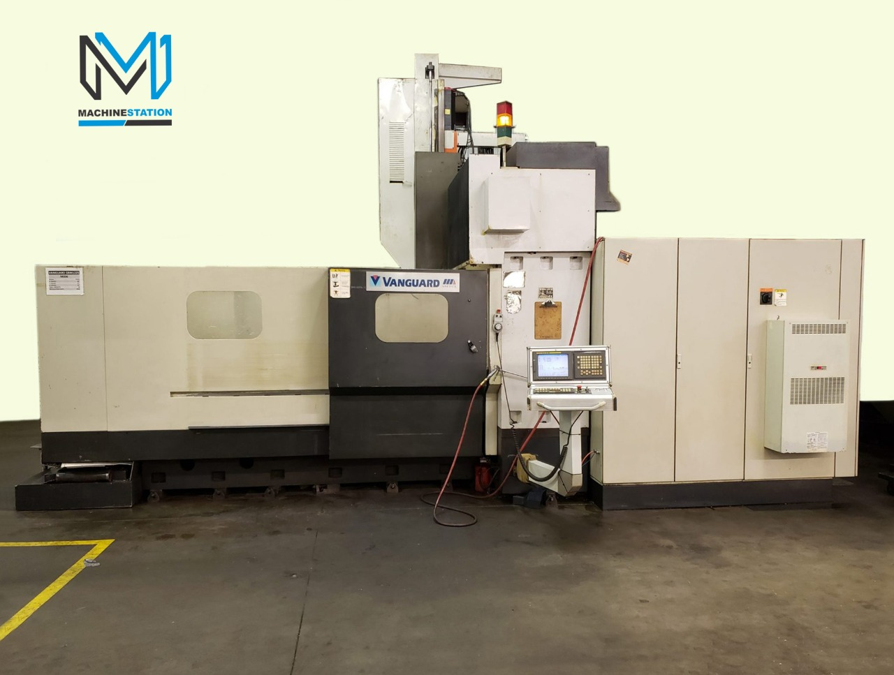 Vanguard GBM 1225 CNC Vertical Bridge Milling(1)